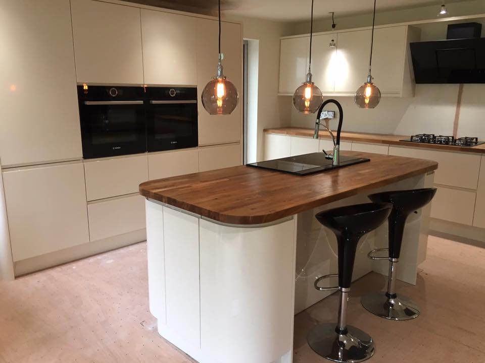 Brand New Kitchen for Carl and Marina